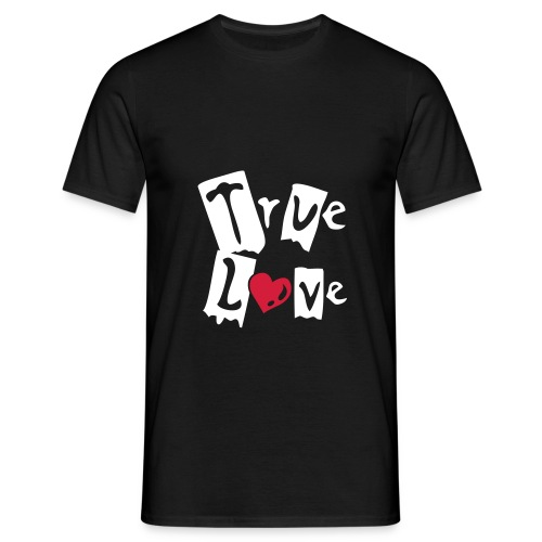 true love - Men's T-Shirt