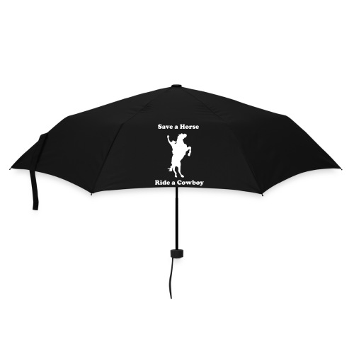 Save a Horse- Ride a Cowboy - Umbrella (small)