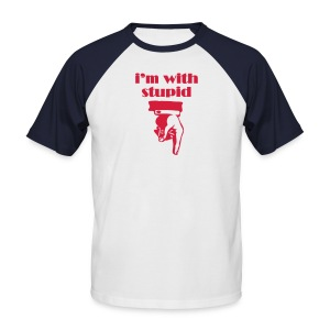 I'm With Stupid - Classic Variation DELUXE - Men's Baseball T-Shirt