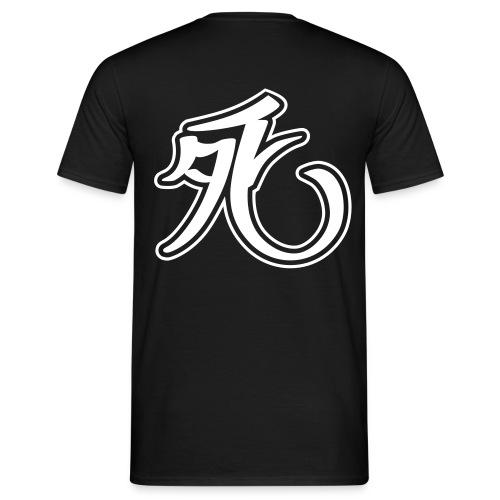 Kanji-Style shi - Männer T-Shirt