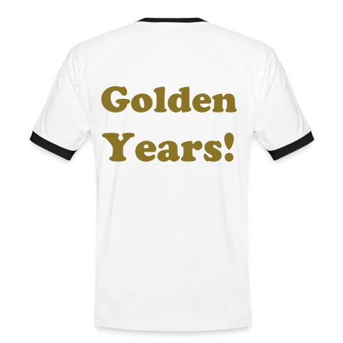 MY LIFE, GOLDEN YEARS! - Mannen contrastshirt