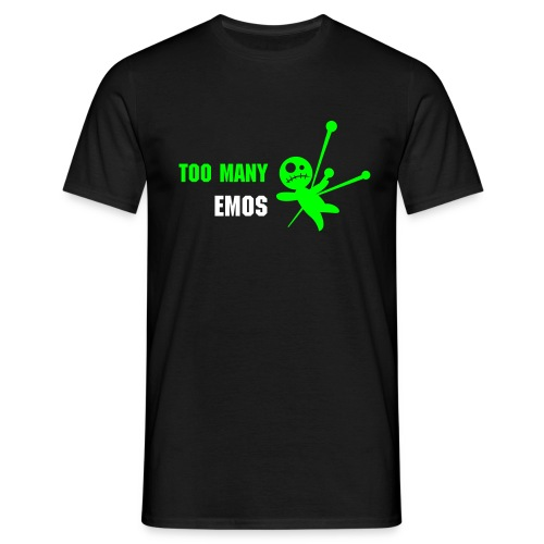 Too Many Emos - Men's T-Shirt