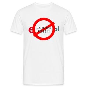 Nie pisze - koszulka męska - Koszulka męska
