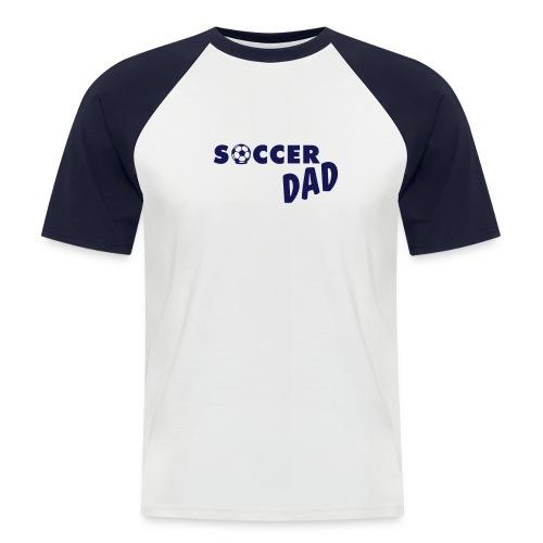 Soccer Dad Blauw - Mannen baseballshirt korte mouw