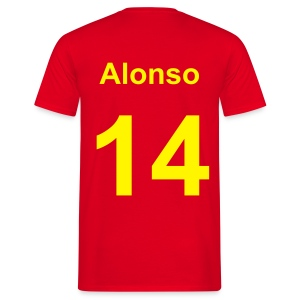 Alonso Spain - Men's T-Shirt