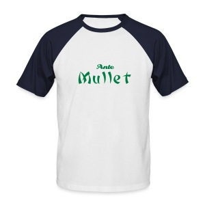 'anti-mullet' tee - Men's Baseball T-Shirt