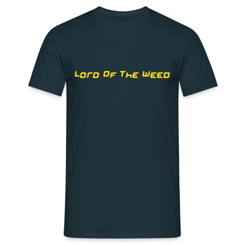 Lord Of The Weed (blue) - Männer T-Shirt