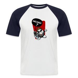 Pruneau T-H - T-shirt baseball manches courtes Homme
