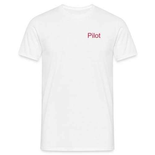 flightsim pilot t-shirt - T-skjorte for menn