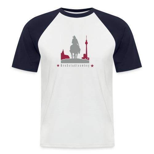 cowboy - Männer Baseball-T-Shirt