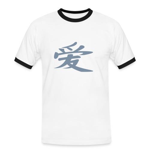 cinese - Maglietta Contrast da uomo