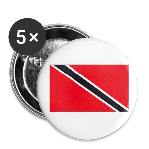 T&T FLAG BUTTONS 5 PACK - IZATRINI.com UK - Buttons small 25 mm