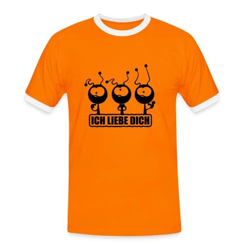 ILY Alien/Ameise - Männer Kontrast-T-Shirt