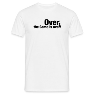 England - The game is over - Men's T-Shirt