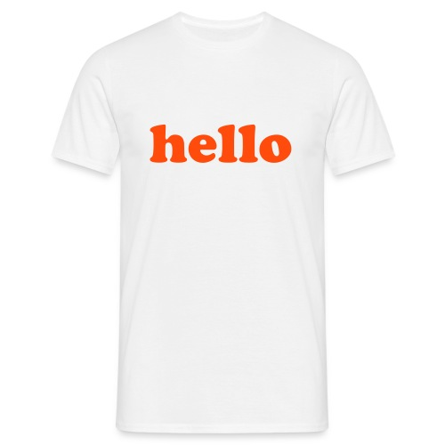 great text - Mannen T-shirt