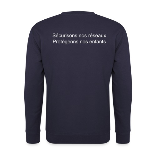 Blue-pullover cps-informatique - Sweat-shirt Homme
