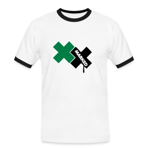 Marked - T-shirt contrasté Homme