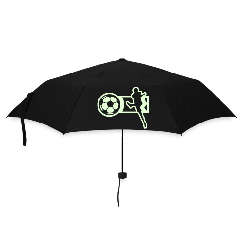 Glow-in-the-dark football umbrella - Umbrella (small)