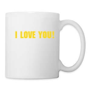 Coffee Mug: I Love You. - Mug