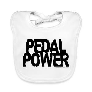 Pedal Power at din-dins... - Baby Organic Bib