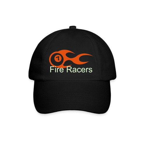 Glow IN The Drak Fire Racers Hat - Baseball Cap