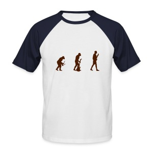 Music Evolution - T-shirt baseball manches courtes Homme