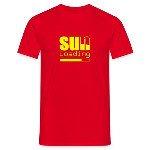 Sun Loading #04 - Männer T-Shirt