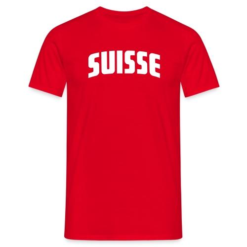 Suisse - Fussball T-Shirt rot - Männer T-Shirt