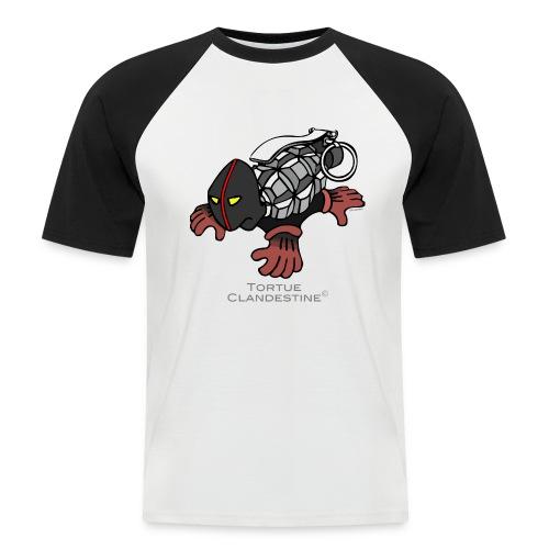 Cupulatta Clandestina - T-shirt baseball manches courtes Homme