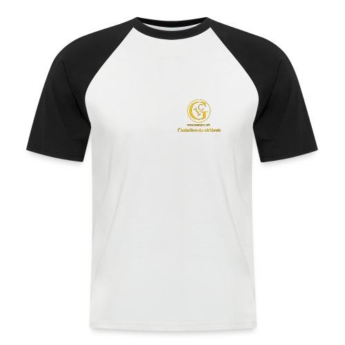 t-shirt raglan - T-shirt baseball manches courtes Homme