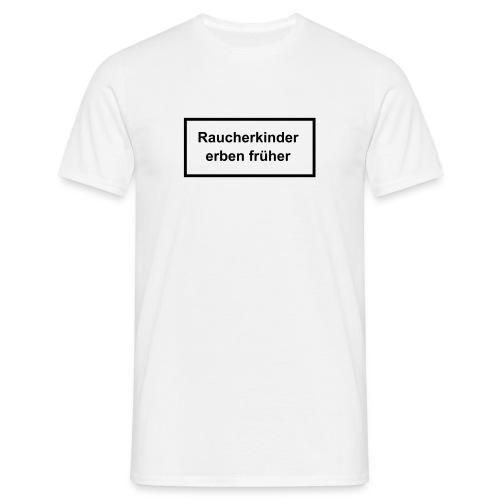 Raucherkind - Männer T-Shirt