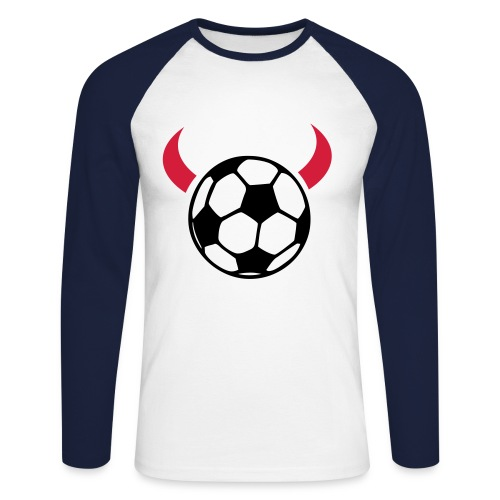 foot - T-shirt baseball manches longues Homme