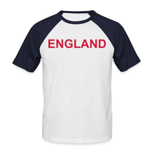 Tee shirt England - T-shirt baseball manches courtes Homme