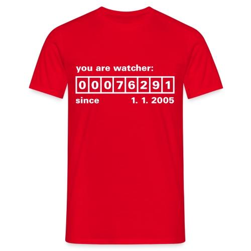 T-Shirt Watcher (M) - Maglietta da uomo