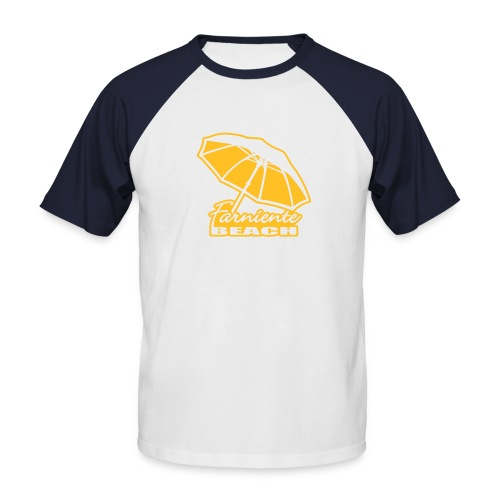 T-shirt American Apparel - T-shirt baseball manches courtes Homme