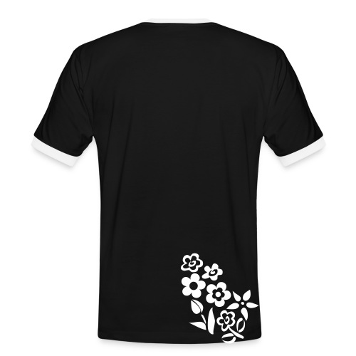 Ticinese D.O.C. T-Shirt nera con testo modificabile (M) - Maglietta Contrast da uomo