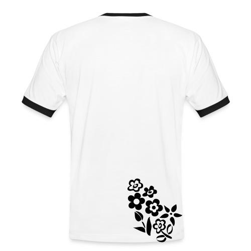 Ticinese D.O.C. T-Shirt bianca con testo modificabile (M) - Maglietta Contrast da uomo