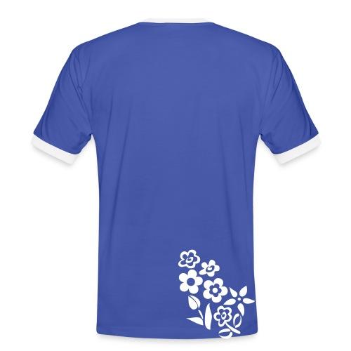 Ticinese D.O.C. T-Shirt azzurra con testo modificabile (M) - Maglietta Contrast da uomo
