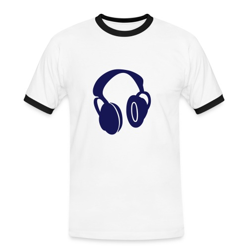 real sound - Männer Kontrast-T-Shirt