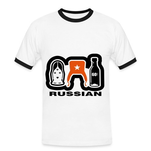 Russian - Men's Ringer Shirt