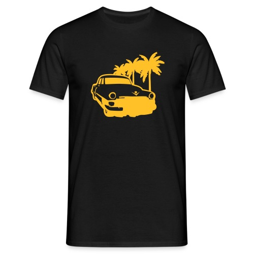 Street on the Beach - Men's T-Shirt
