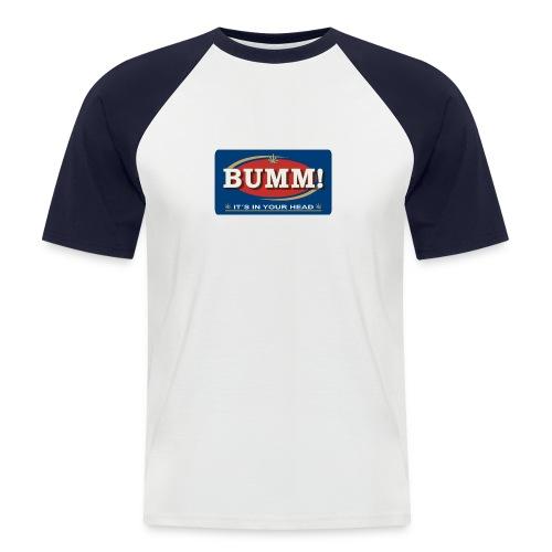Bumm! - Männer Baseball-T-Shirt