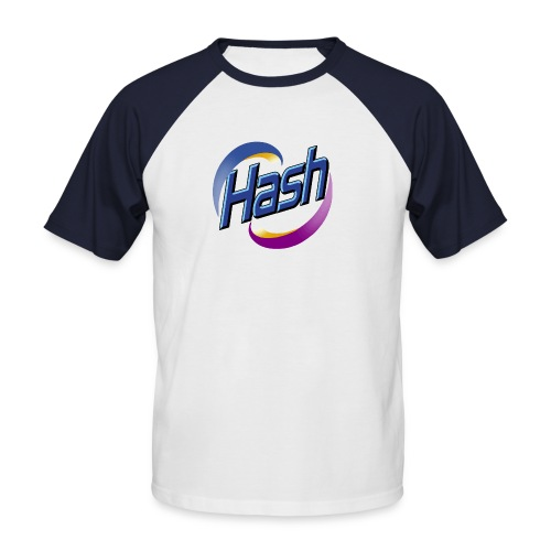 Hash Baby - Männer Baseball-T-Shirt