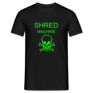 shred machine tee - Men's T-Shirt