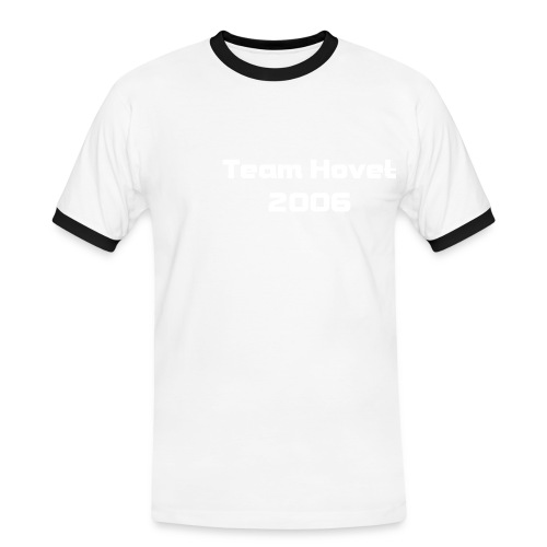 Team t-shirt - Kontrast-T-skjorte for menn