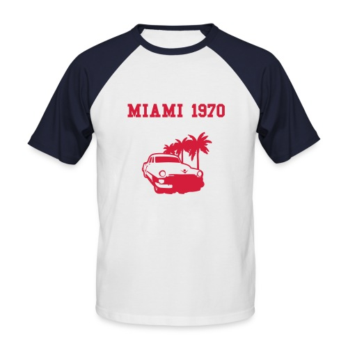 Old Miami - T-shirt baseball manches courtes Homme