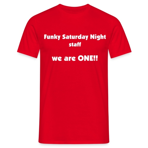 Funky Suturday Night Staff T-shirt - Men's T-Shirt
