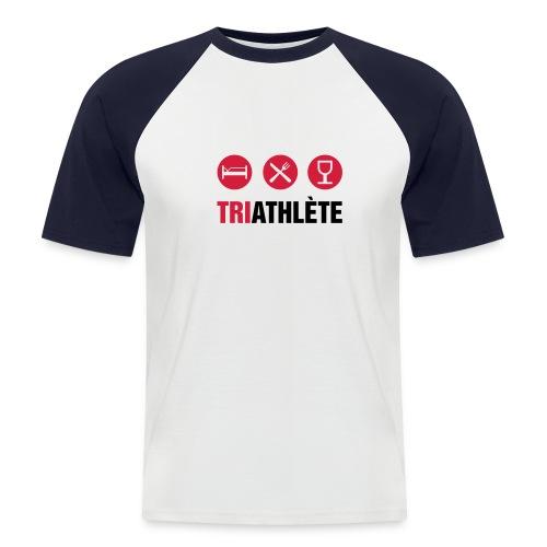 Triayhlon - T-shirt baseball manches courtes Homme