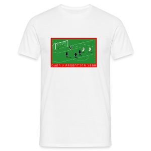 Michael Owen Pixel Art T-Shirt - Men's T-Shirt