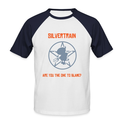 Are You The One To Blame? Shortsleeve With Backprint - Men's Baseball T-Shirt